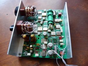 Цифровой синтезатор частоты передатчика с шагом 9 кГц